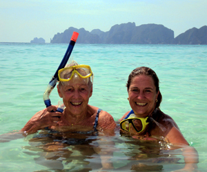 Snorkel from your private yacht