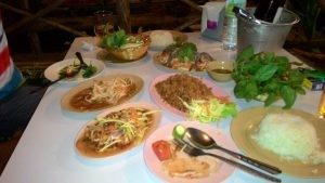 Great Variety of Thai Food in Phuket Thailand