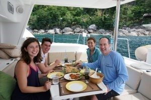 Lunch onboard Private Charter Sailing Yacht Phuket