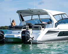 Power Catamaran Speedboat Shashi