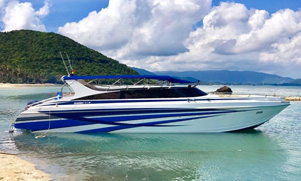 Standard Speeboat for daytrips to Phi Phi or Phang Nga Phuket
