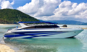 Hire private speedboat for dayt trip to Phi Phi Phuket