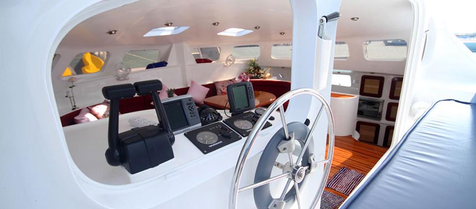 Cabin Charters Catamaran Amadeus Phuket Thailand