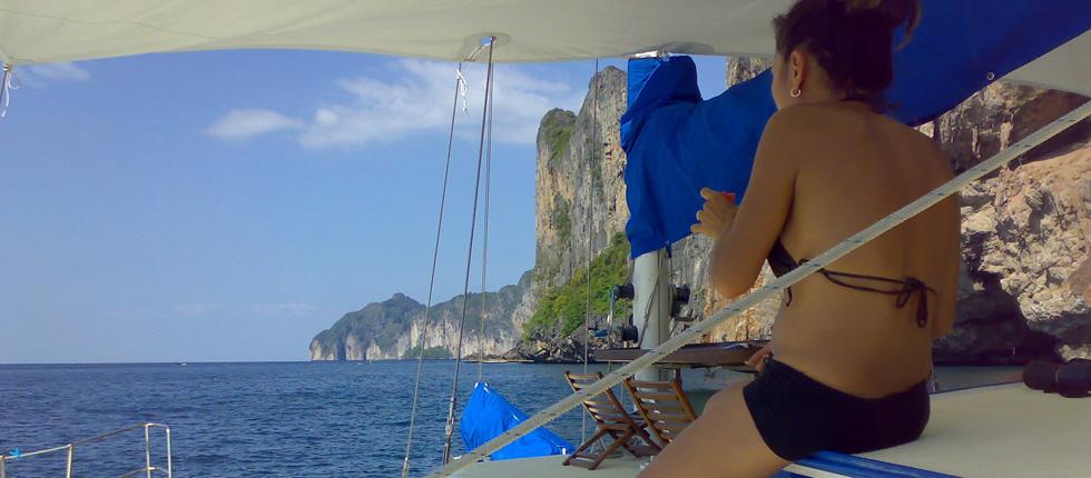 Cabin Charter Sailing Yacht Phuket Thailand