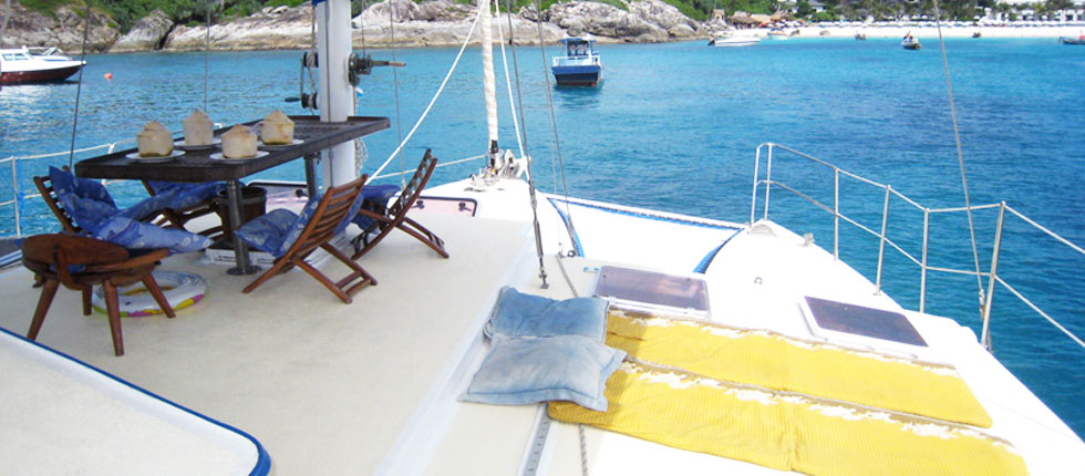 Private Boat trip Racha Islands Phuket