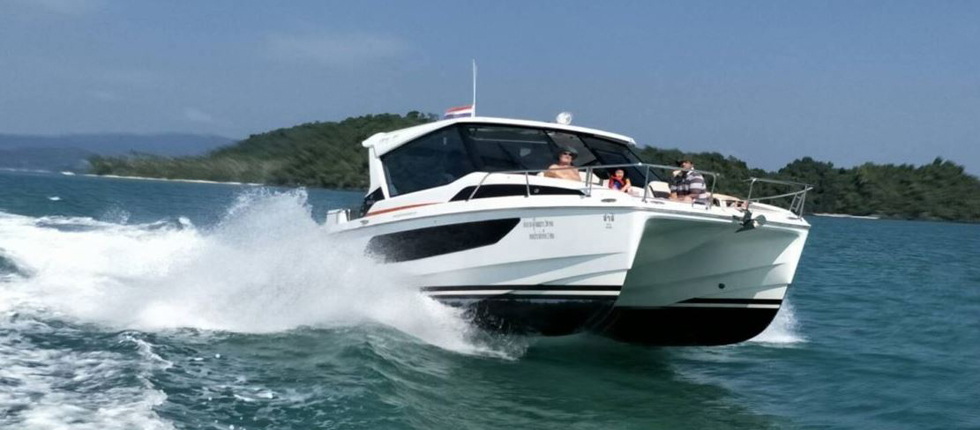 Rent Private Speedboat for Day Tour Phuket Thailand