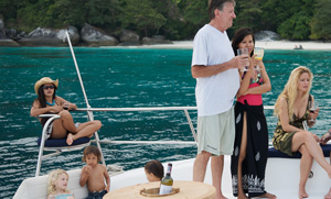Celebrate Special Event in Phuket on a Boat